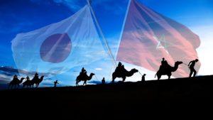 日出づる国(日本)から、日の没する地、マグリブ(モロッコ)へ