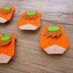 El Jadidaのマスコットも馬?折り紙でぐんまちゃんを作ってみた